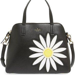 Kate Spade Daisy Appliqué Maise Leather Bag